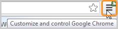 Icono Configuración seleccionado.