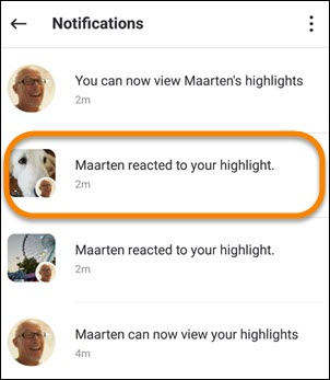 App notifications on iOS and Android (6.0) and above