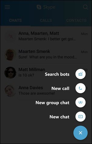 Search bots on Android (4.0-5.0)