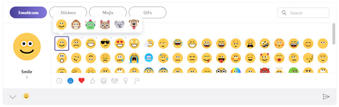 What is the full list of emoticons? | Skype Support