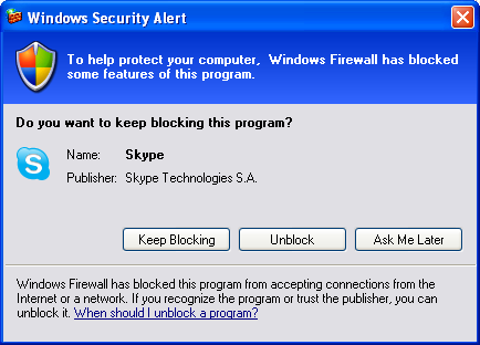 windows 7 firewall control xp