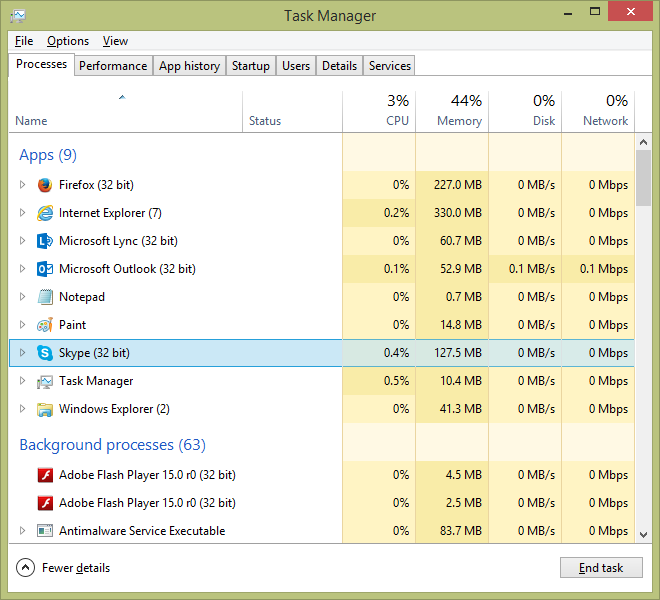 Skype 8.21.0.7 Screenshot 1 ...