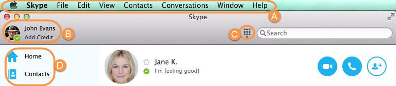 applicazione Skype