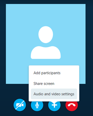 From the displayed options, click the Share screens option.