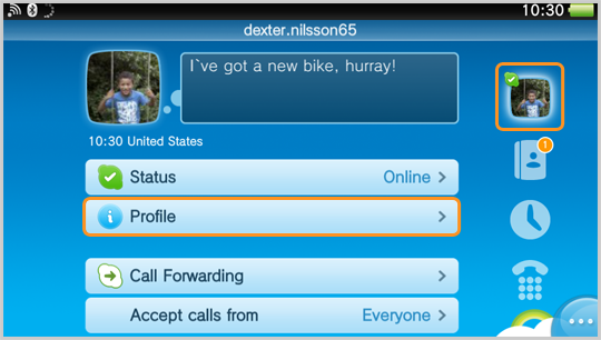 image Message sur mon skype avec epilation