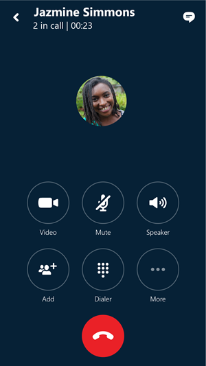 how do i make a voice call with skype for android