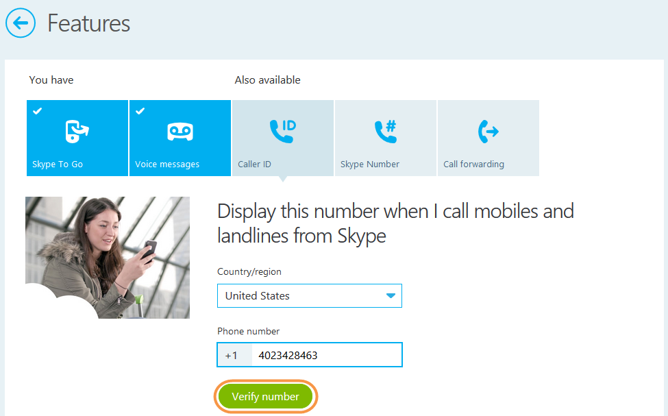 where to find skype id