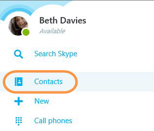 how to do a test call on skype