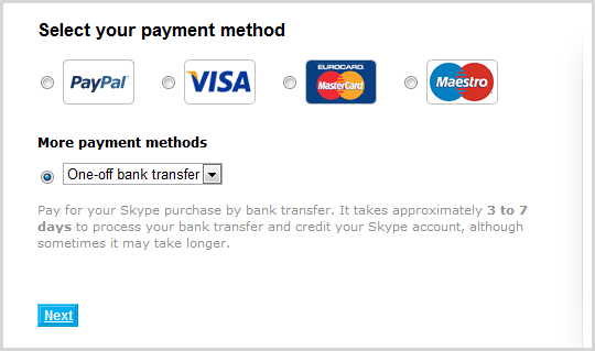 pay by bank transfer deutsch