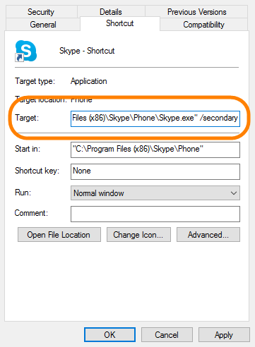 How can I run multiple Skype accounts at the same time?