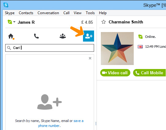 how to have a group video call on skype