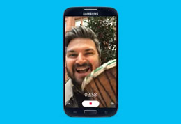 Send a video message